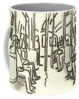 Take The A Train, Nyc Coffee Mug