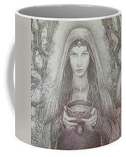 Take A Bowl Of Your Happiness Coffee Mug by Rita Fetisov
