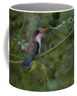 Coffee Mug featuring the photograph Taking Five by John Kolenberg