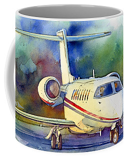 Coffee Mug featuring the painting Taking Flight by Andrew King