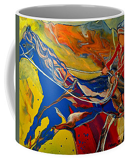 Taking The Reins Coffee Mug