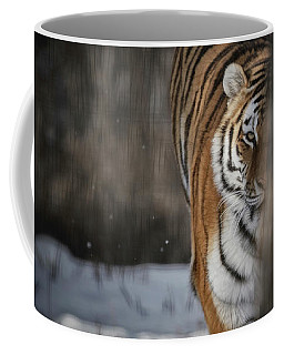 Coffee Mug featuring the photograph Taking Up The Chase by Brad Allen Fine Art