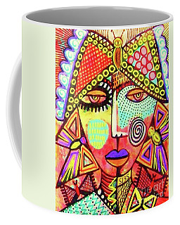 Talavera Butterfly Woman Coffee Mug