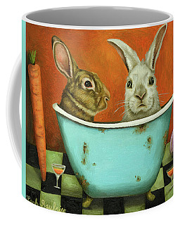 Tale Of Two Bunnies Coffee Mug
