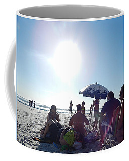 Talking About Life Coffee Mug by Beto Machado
