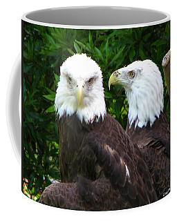Talking To Me Coffee Mug by Greg Patzer