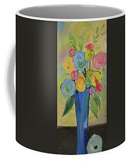 Tall Floral Order Coffee Mug