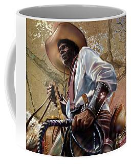 Tall In The Saddle Cowboy Pride 1a Coffee Mug