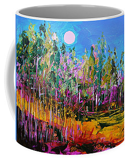 Tall Left And Front Coffee Mug by John Williams