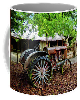 Coffee Mug featuring the digital art Tall Rims by Steve Taylor