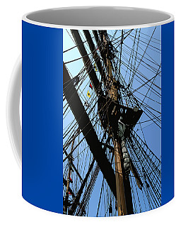 Tall Ship Design By John Foster Dyess Coffee Mug