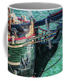 Tall Ship Detail, St. Petersburg Fl Coffee Mug