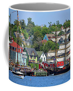 Tall Ships 2017 Lunenburg,  Nova Scotia Coffee Mug
