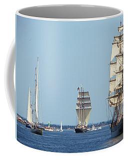 Tallships At Aarhus Coffee Mug
