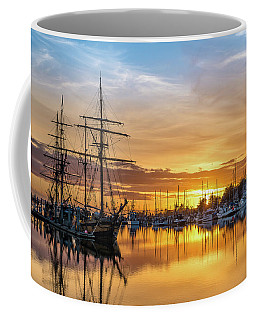 Tall Ships Sunset 1 Coffee Mug