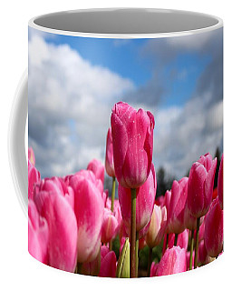 Tall Standing Tulip Coffee Mug