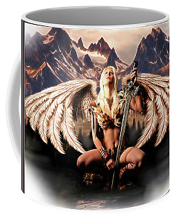 Talon Of The Hawk Woman Coffee Mug