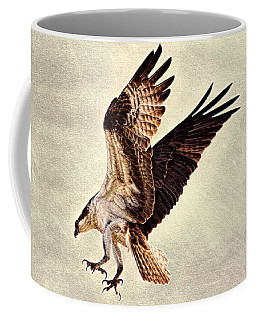 Coffee Mug featuring the photograph Talons First  by Ola Allen