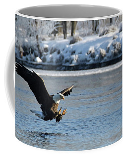 Talons Out Coffee Mug by Brook Burling