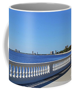 Coffee Mug featuring the photograph Tampa Bay Front by Gary Wonning