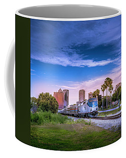 Coffee Mug featuring the photograph Tampa Departure by Marvin Spates