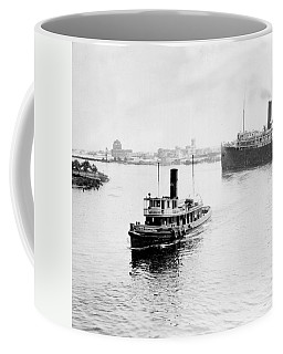Tampa Florida - Harbor - C 1926 Coffee Mug by International  Images