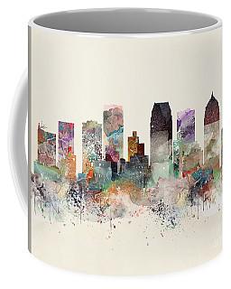 Tampa Florida Skyline Coffee Mug