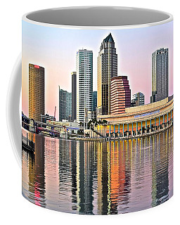 Tampa In Vivid Color Coffee Mug by Frozen in Time Fine Art Photography