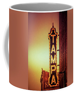 Coffee Mug featuring the photograph Tampa Theatre by Carolyn Marshall