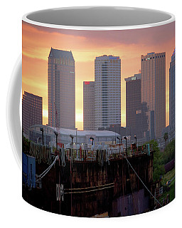 Tampa's Skyline From The Port Coffee Mug
