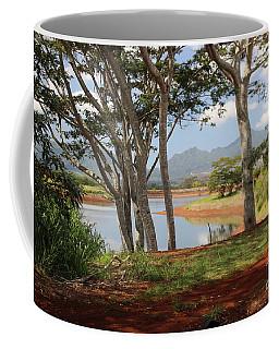 Tanada Reservoir Oahu Coffee Mug