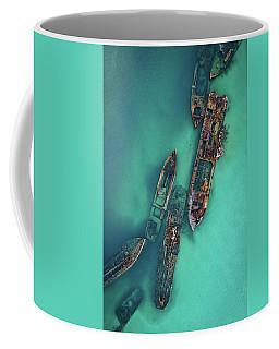 Tangalooma Wrecks Coffee Mug