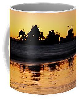 Tangalooma Wrecks Sunset Silhouette Coffee Mug