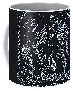 Tangle Flowers Coffee Mug