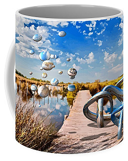 Tangle On The Boardwalk - Something's Not Right Coffee Mug