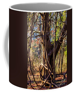 Tangled Vines On Tree Coffee Mug