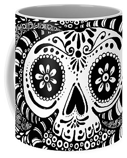 Tangled Skull Coffee Mug