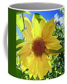 Tangled Sunflower Coffee Mug