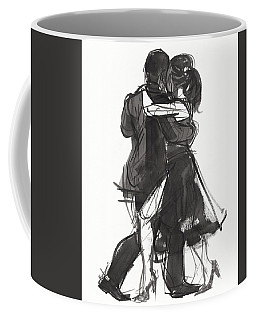 Coffee Mug featuring the painting Tango 2 by Judith Kunzle