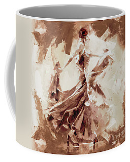 Coffee Mug featuring the painting Tango Dance 9910j by Gull G