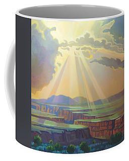 Taos Gorge God Rays Coffee Mug