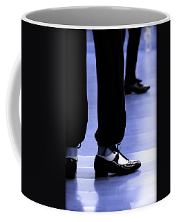 Tap Dance In Blue Are Shoes Tapping In A Dance Academy Coffee Mug