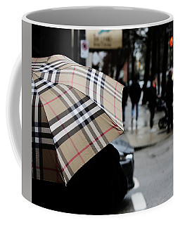 Coffee Mug featuring the photograph Tap Me On The Shoulder  by Empty Wall
