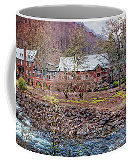 Coffee Mug featuring the photograph Tapoco Lodge by Debra and Dave Vanderlaan