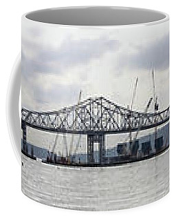 Tappan Zee Bridge From Tarrytown Coffee Mug by Suhas Tavkar