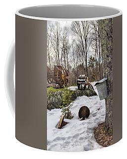 Tapping A Maple Sugar Tree Coffee Mug