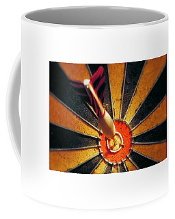 Coffee Mug featuring the painting Target by Sean McDunn