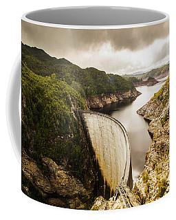 Tasmania Hydropower Dam Coffee Mug