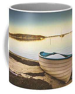 Tasmanian Coastal Beach Landscape Coffee Mug