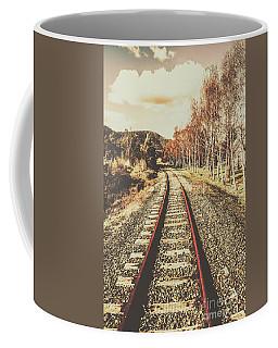 Tasmanian Country Tracks Coffee Mug